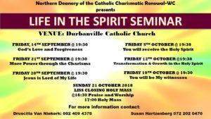 Life in the Spirit Seminar – Durbanville Catholic Church